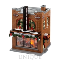 Department 56 Harley-Davidson Snow Village