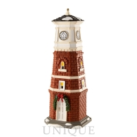 Department 56 Snow Village Clock Tower