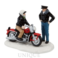 Department 56 A New '56 Harley-Davidson KH