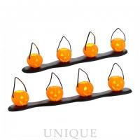 Department 56 Lit Pumpkin Luminaries