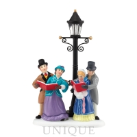 Department 56 Caroling by Lamplight