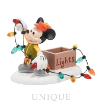 Department 56 Mickey Lights Up Christmas
