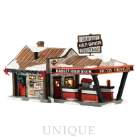 Department 56 Harley Big Tin Drive-In