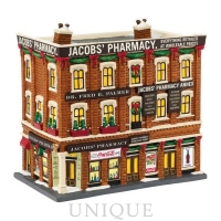 Department 56 Jacobs' Pharmacy