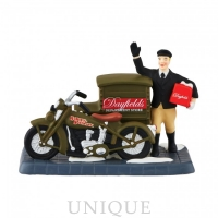 Department 56 Harley Delivers Christmas