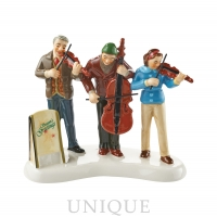 Department 56 Snow Village String Trio