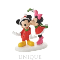 Department 56 Mickey's Christmas Kiss
