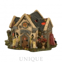 Department 56 The Haunted Cemetery Shed