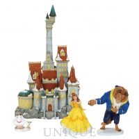 Department 56 Beauty & The Beast Holiday Set