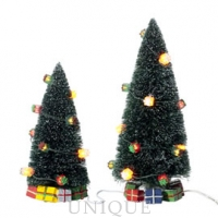 Department 56 Lighted Christmas Gift Trees