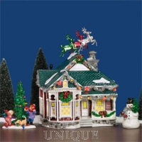Department 56 The Tinsel & Garland House