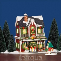 Department 56 Christmas Crafts Cottage