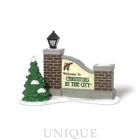 Department 56 Welcome To Christmas In The City