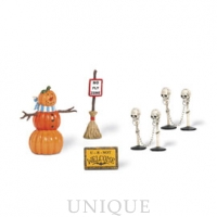 Department 56 Halloween Decorating Set