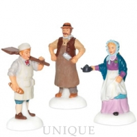 Department 56 Dickens' Shopkeepers