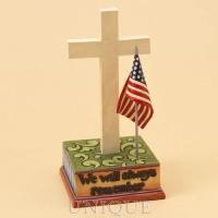 Jim Shore Heartwood Creek Tribute Cross