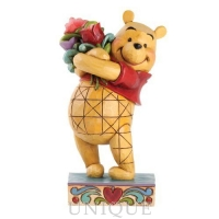 Jim Shore Heartwood Creek Winnie The Pooh Friendship Bouquet