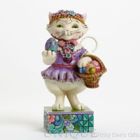 Jim Shore Heartwood Creek Pint Sized Easter Cat