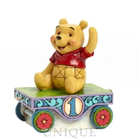 Jim Shore Heartwood Creek Pooh Train - 1