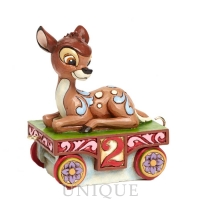 Jim Shore Heartwood Creek Bambi Train - 2