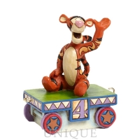 Jim Shore Heartwood Creek Tigger Train - 4