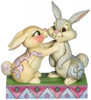 Jim Shore Heartwood Creek Thumper & Miss Bunny