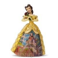 Jim Shore Heartwood Creek Belle with Castle Dress