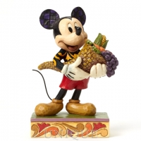 Jim Shore Heartwood Creek Autumn Mickey Mouse