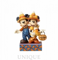 Jim Shore Heartwood Creek Candy Corn Mickey and Minnie
