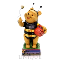 Jim Shore Heartwood Creek Pooh as Honey Bee