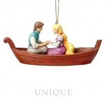 Jim Shore Heartwood Creek Rapunzel and Flynn Ornament