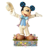 Jim Shore Heartwood Creek Spring Mickey Mouse