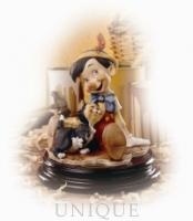 Armani Figurines Pinocchio & Figaro