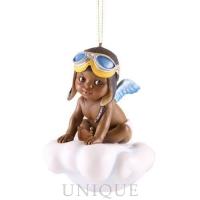 Blackshear Collection Adorable Boy Ornament