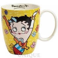 Disney by Romero Britto Betty Boop Yellow Mug