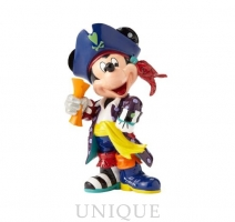 Disney by Romero Britto Mickey Mouse Pirate Figurine