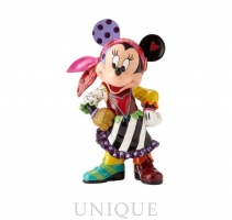 Disney by Romero Britto Minnie Mouse Pirate Figurine