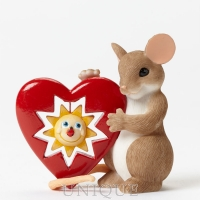 Charming Tails 2015 Members Only Figurine- Your Sunny Smile Warms My Heart