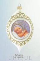 Ebony Visions Baby Jesus Ornament