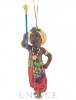 Ebony Visions Little Major Ornament