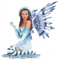 EverSpring Ice Fairy Sitting with Orb in Hand