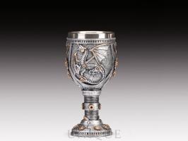 EverSpring Steampunk dragon goblet