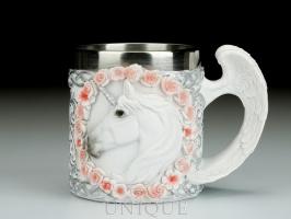 EverSpring Mug - unicorn and wings handle