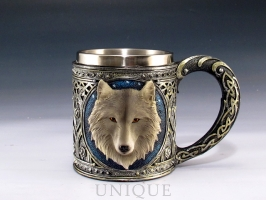 EverSpring Wolf head mug