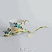 Franz Porcelain Bamboo Song Bird Collection: Spoon