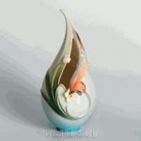 Franz Porcelain Papillon butterfly design: Small Vase