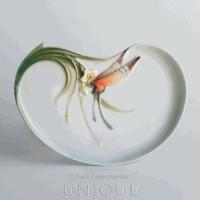 Franz Porcelain Papillon butterfly design: Porcelain Luncheon Plate