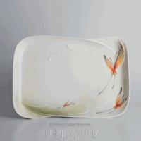 Franz Porcelain Papillon butterfly: porcelain tray
