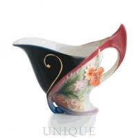 Franz Porcelain Flora and Flutter: Creamer