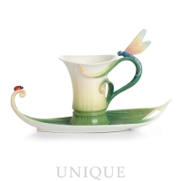 Franz Porcelain Peace and Harmony Bamboo: Cup & Saucer